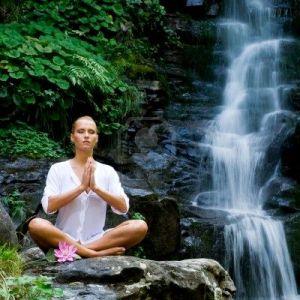 5505305-hermosa-mujer-joven-meditando-en-posici-n-de-loto-mientras-que-haciendo-yoga-en-un-bosque-situado-en